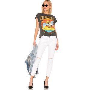 Current/Elliott White High Rise Stiletto Jeans NWT
